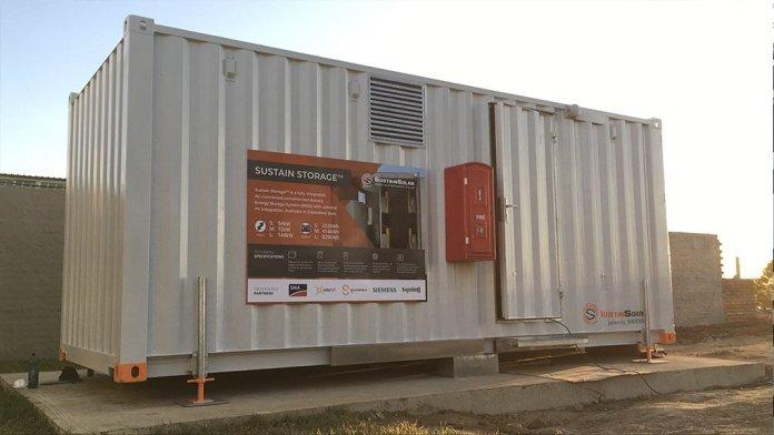 SustainSolar Provides Energy Storage For Hospital