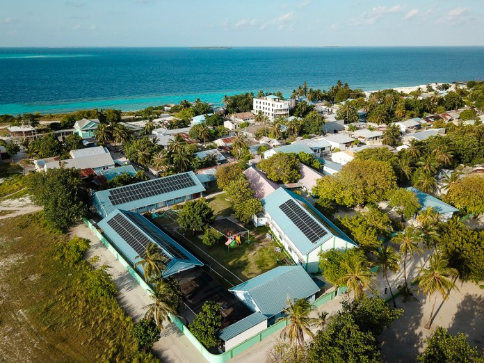 DHYBRID Installs Solar+Storage On 26 Maldivian Islands