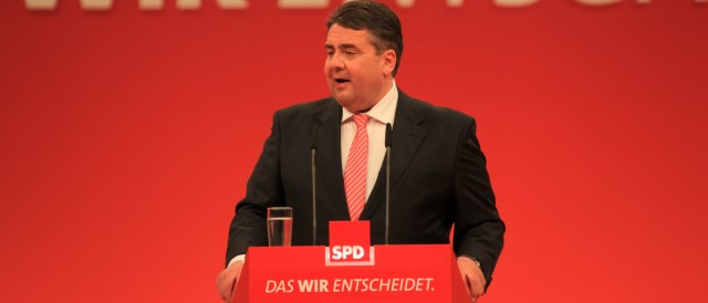 Sigmar Gabriel will be the new minister for the economy and the Energiewende. He was previously minister for the environment between 2005-2009. (Photo by blu-news.org, CC BY-SA 2.0)