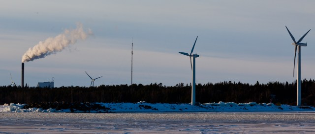 Coal and Wind in Winter