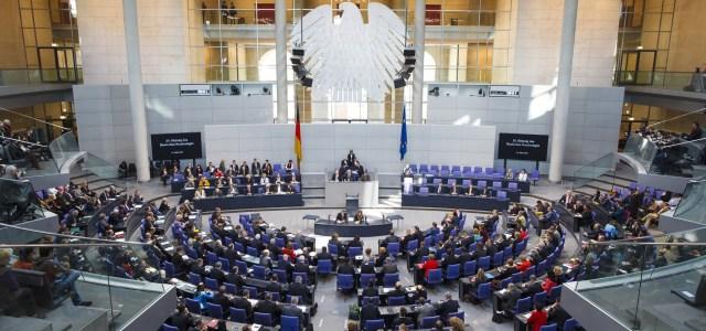 Plenary of the Bundestag
