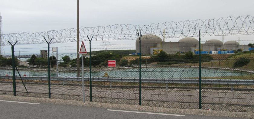 The nuclear power plant in Paluel, France.