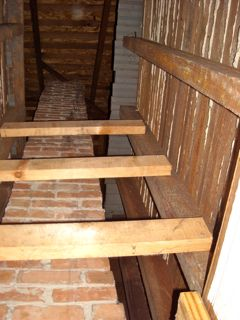 open chase to attic