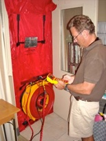 HERS rater training Blower Door, duct leakage, and diagnostic testing