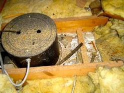 recessed can light insulation air barrier building envelope problems