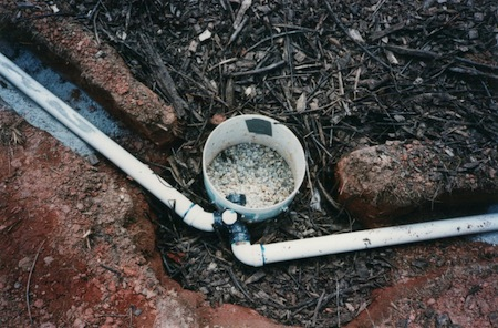 greywater system 7 construction outlet bucket green building 2003 sml