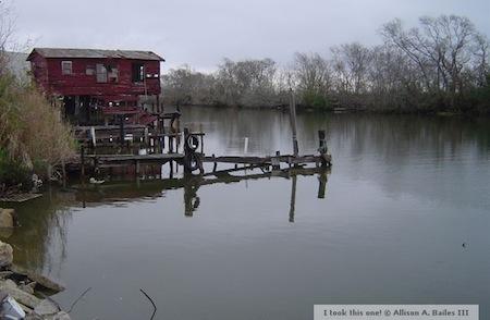 louisiana house on the bayou chauvin peak oil