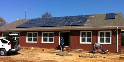 net zero energy home photovoltaics efficiency insulating concrete forms
