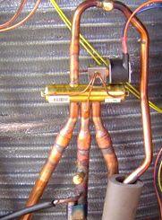 hvac heat pump reversing valve