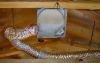 hvac exhaust fan duct sharp turn low air flow