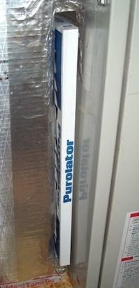 hvac filter air handler return plenum no cover