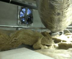 building enclosure control freak suspended ceiling fiberglass batt insulation heat flow infiltration
