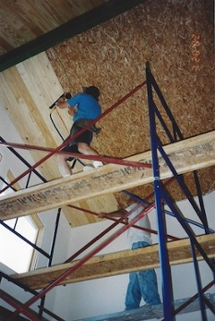 Green home building: Self delusion on the scaffold, Allison Bailes