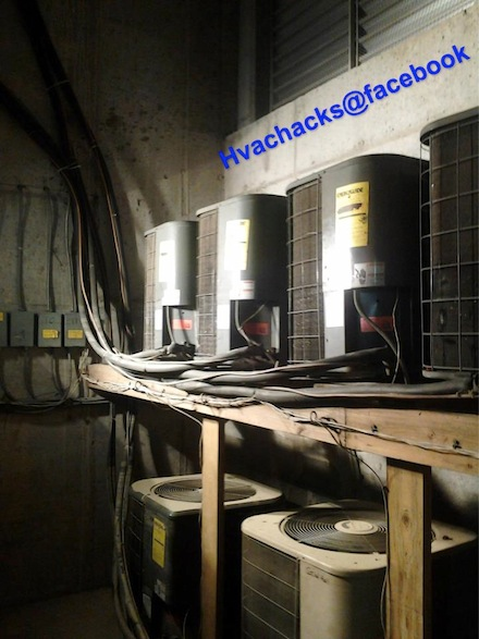hvac condensing units small indoor room small