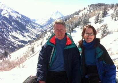 skiing buttermilk mountain colorado pyramid peak