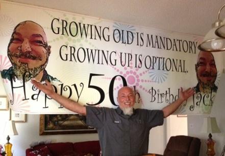 jack man cave 50 birthday