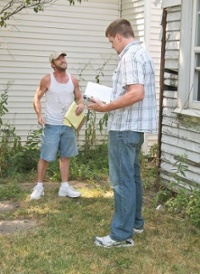 Unlicensed contractor sting in Indiana, as reported by Angie's List