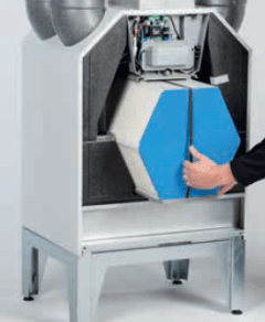 energy heat recovery ventilator erv hrv zehnder passive house