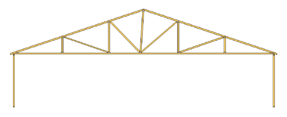 duct system conditioned space standard truss