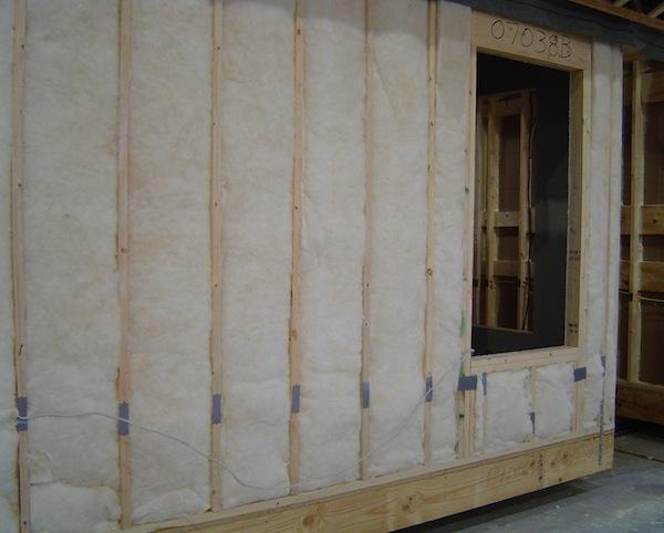 fiberglass batt insulation grade i installation modular home crew
