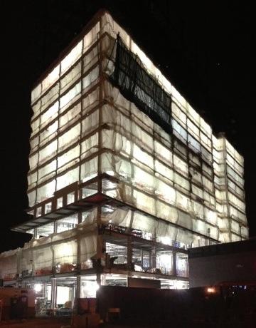 stack effect building boston night energy vanguard