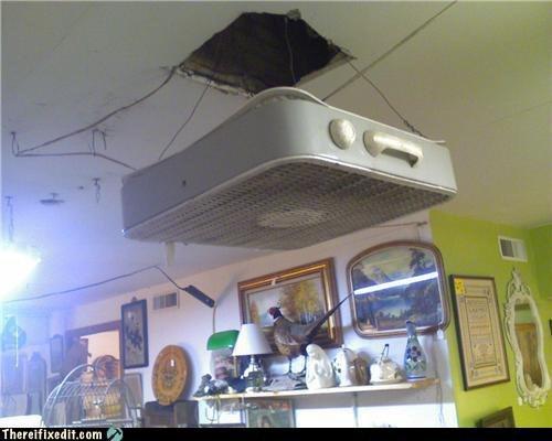 ceiling fan low tech poor efficacy