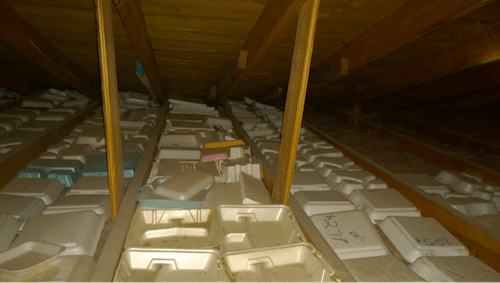 attic insulation to go polystyrene boxes 2b