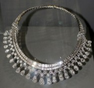 atmospheric combustion furnace diamond and platinum necklace