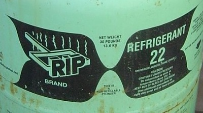 R-22 Air Conditioner Refrigerant