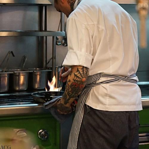 Kokk på Bar Cañete