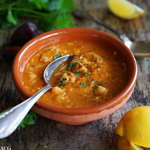 harira, suppe fra Marokko