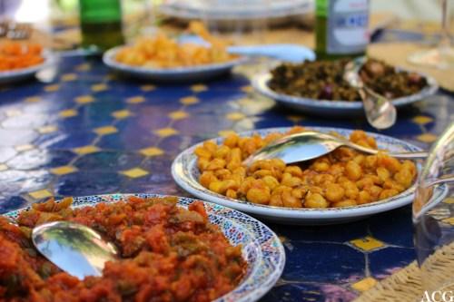 Marokkanske salater er fargerike og smakfulle