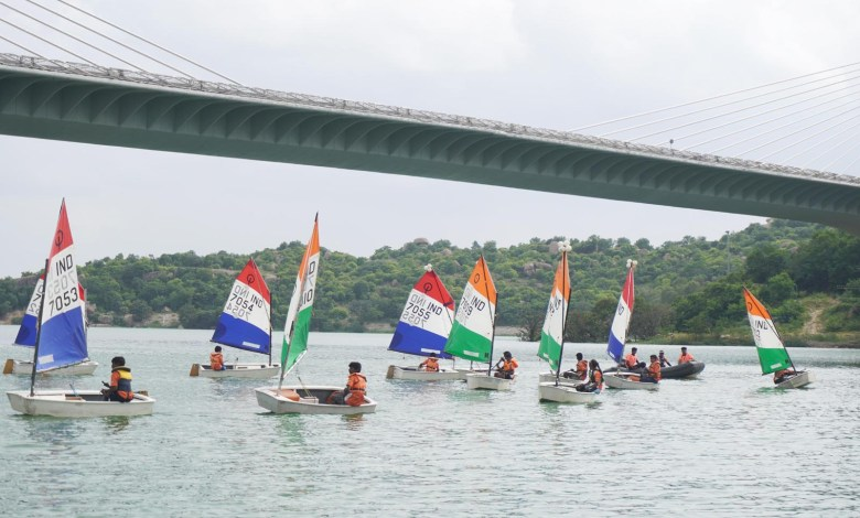 The Yacht Club of Hyderabad expands to Durgam Cheruvu conducted preview of the Sailing Activity at Durgam Cheruvu Saturday evening