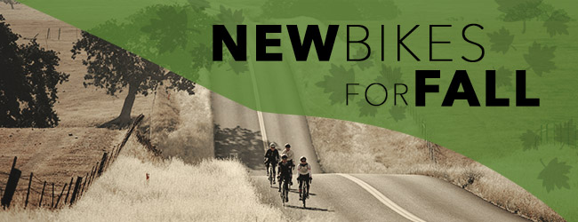 New bikes for fall