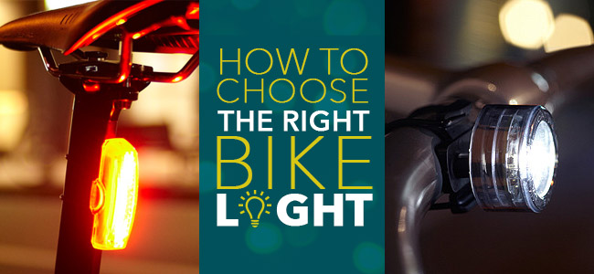 How to choose the right bike light