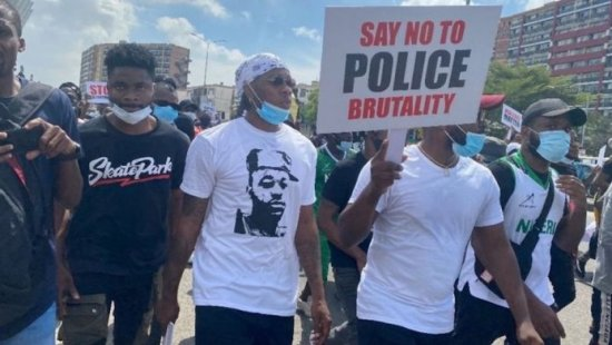 Celebrities protests SARS killings