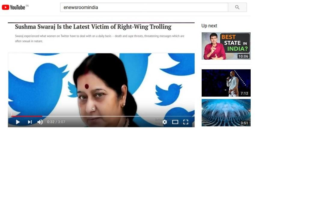 crime against women india thomson reuters sushma swaraj