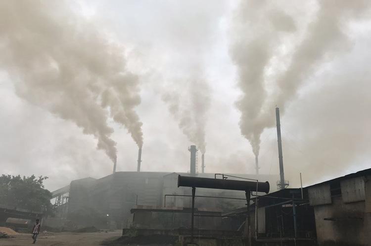 pollution iron steel industries air quality giridih delhi ias jadhav