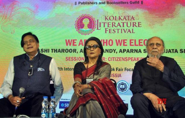 anti-caa nrc kolkata book fair bjp Shashi Tharoor