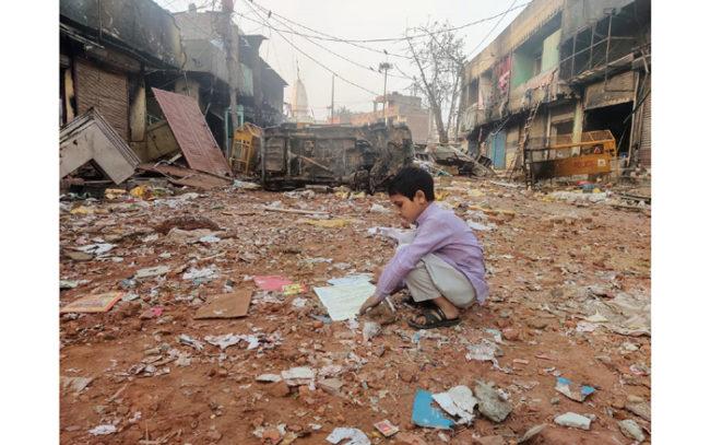 Bengali migrants in delhi riots caa bjp bengal Rss Citizenship NRC NPR migrant violence