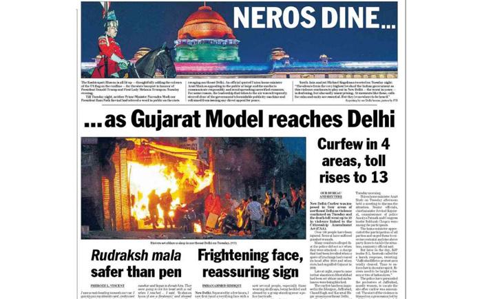 genocide in Delhi riots civil war caa citizenship