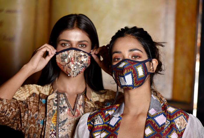 corona virus covid-19 fashion designer masks