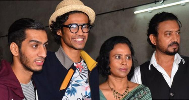 Irrfan Khan family