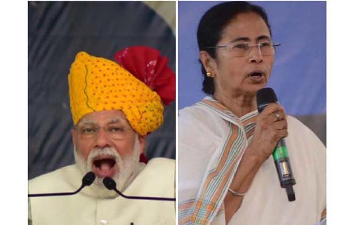 Chief minister mamataBanerjee centre face-off west bengal ips officers