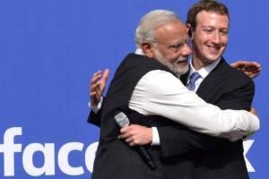Narendra modi and social media twitter whatsapp facebook