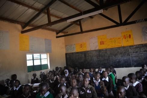 Isaiah's Class (Kyamulendu Primary School).