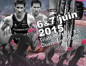 Triathlon Côte de Granit Rose, 6 éditions : 6 affiches