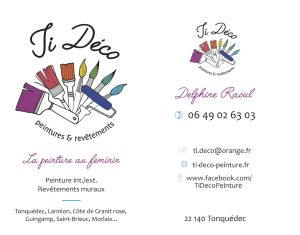 Cartes de visite pour Ti Déco Peinture
