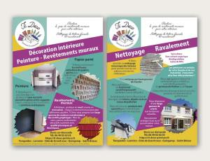 Conception de flyer, Enez Web Paper