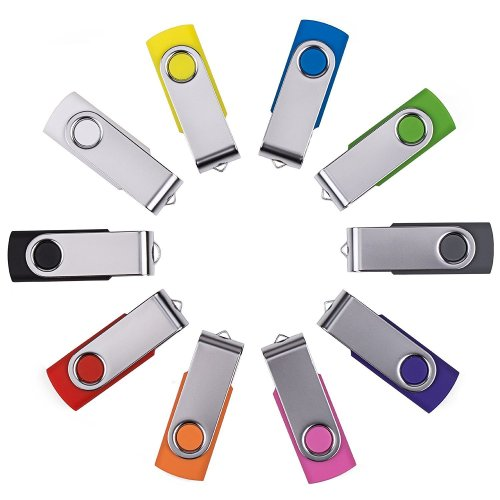 Enfain Swivel USB Mix 10 Pack